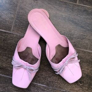 Pink Kate space sandals